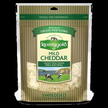 Mild Shredded Cheddar Cheese