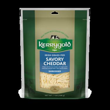 Savory Shredded Cheddar Cheese